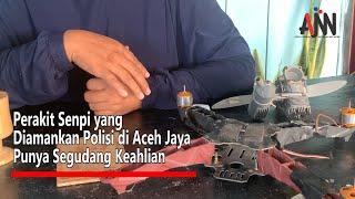 Perakit Senpi yang Diamankan Polisi di Aceh Jaya Punya Segudang Keahlian
