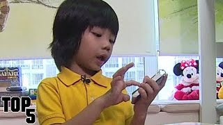 Top 5 Smartest Kids In The World