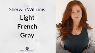 Paint Colour Review: Sherwin Williams Light French Gray SW 0055