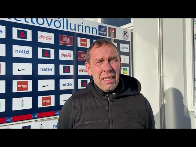 Gunnar Magnús: Það sauð svolítið á okkur