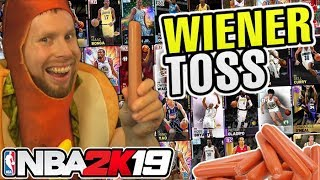 I tossed my Wiener for NBA 2K19