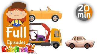 Doctor McWheelie compilation 10. Car cartoons for kids.