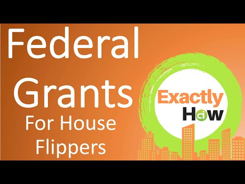 How To Get a Federal Grant For House Flipping + Home Improvement (Exactly How)
