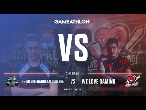 Gameathlon Online July 2020 (Game)  - LoL Semifinals -  GS Mediterranean College VS We Love Gaming