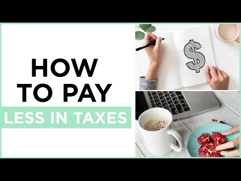 5 Ways To Legally Pay Less In Taxes