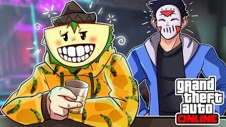 DELIRIOUS BROUGHT ME TO A STRIP CLUB!?!?!?!  [GTA V ONLINE] (FUNNY MOMENTS)