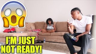 I'M NOT READY TO BE A DAD PRANK  *Must Watch*‼️