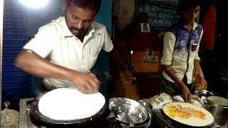 Masala Dosa | Kolkata Street Food 2017 | South India Street Food in Kolkata