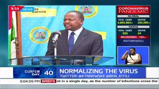 Health Cabinet Secretary: Kenyans operating as if there is no COVID-19 in the country
