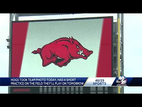 Hogs' College World Series Game 1 is Saturday