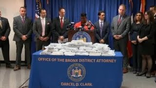Big cocaine bust in NYC, 19 arrested