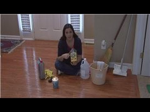 Housekeeping Tips : Removing Wax From Wood Floors