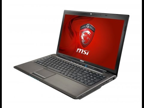 MSI GE620DX Unboxing