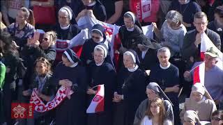 Papa Francisco - Oracão do Angelus 2018-11-11