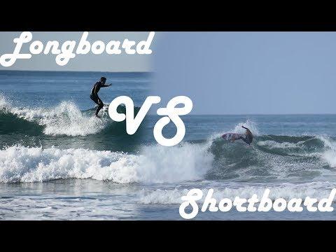 Longboarding VS shortboarding