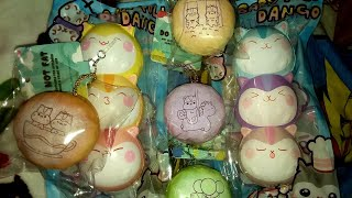 *BRAND NEW* POLI SQUISHIES! DANGOS AND BUNS! POPULARBOXES_HK ❤❤
