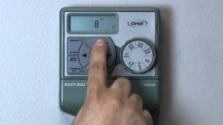 How to Program an Orbit Easy Dial Timer - Basic Programming