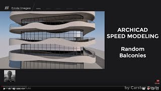 Speed  Modeling Random Balconies
