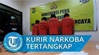 Polisi Ringkus Kurir Narkoba yang Transaksi di Stasiun MRT Haji Nawi, Kurir Akui Baru Pertama Kali