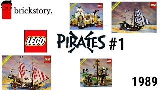 Traumhaft! Alle Classic Pirate Sets aus 1989! | System Pirates Teil 1 | Brickstory