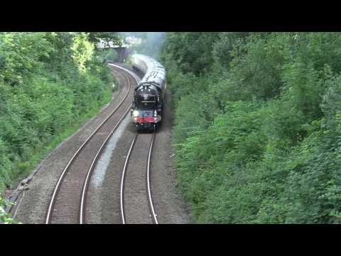 60163 'Tornado' on the up 'Torbay Express' climbing Torre Ba…