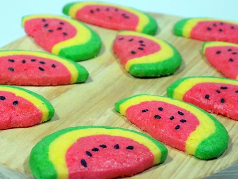 Video Resep kue kering semangka