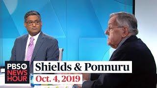Mark Shields and Ramesh Ponnuru on Trump, Ukraine and 'quid pro quo'