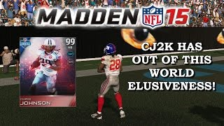 Madden 15 Ultimate Team | CJ2K HAS OUT OF THIS WORLD ELUSIVENESS! | ALL TIME NY TEAM! | EP. 5