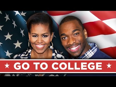Go to college with First Lady Michelle Obama