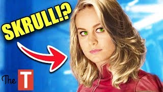 Captain Marvel Theories You Need To Know About Before Seeing The Movie