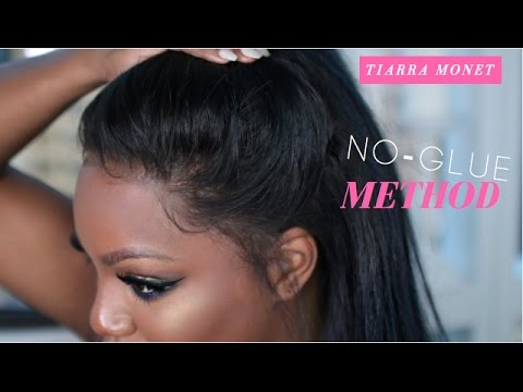 Lace Series | Installing your Frontal wig #TiarraMonet