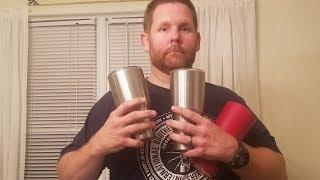 My Yeti Cup vs Walmart Mossy Oak Cup Ice Challenge