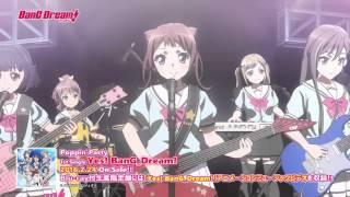 PoppinParty1stSingleCD「Yes!BanG_Dream!」アニメMVショートVer.