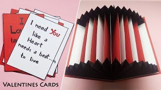 Valentines Day Cards | Valentine Cards Handmade Easy | Greeting Cards Latest Design Handmade | #188