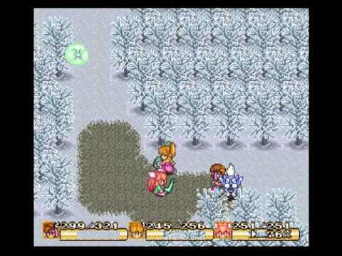 Lets Play Together Secret of Mana Part 20 - Der Eis Palast