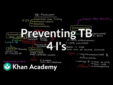"Preventing TB using the ""4 I"