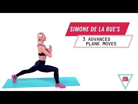 Simone De La Rue's 3 Advanced Plank Moves | Health