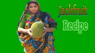 Village Food Farm Fresh Jackfruit  Recipe Village Style Tasty & Delicious Fresh Kathal Cooking