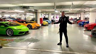 Najbogatszy garaż w Polsce! 50 Sportowych samochodów w garażu podziemnym!