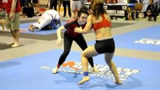Gabby 'Minitron' Bella vs Jenna Serio: Women's Advanced nogi