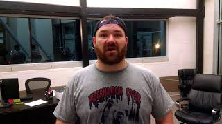 PYRAMID FIGHTS 3: Justin 'The Grizzly Bear' Frazier - MMA FIGHT INTERVIEW