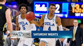 Highlights: UCLA men's basketball overcomes 19-point deficit to sweep season series with Oregon...