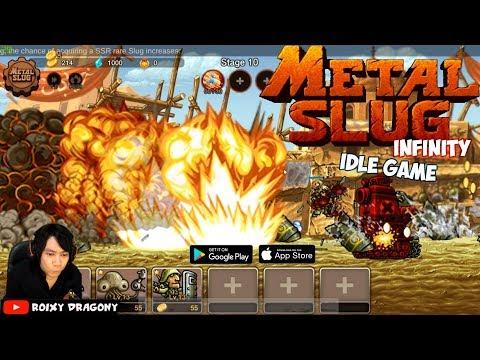 Metal Slug Infinity : Idle Game (Android) Gameplay ᴴᴰ - смотреть
