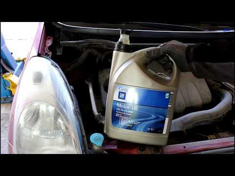 Фото к видео: Nissan Note 2007 года Ниссан Ноут 1,6 Замена масла в двигателе и фильтров
