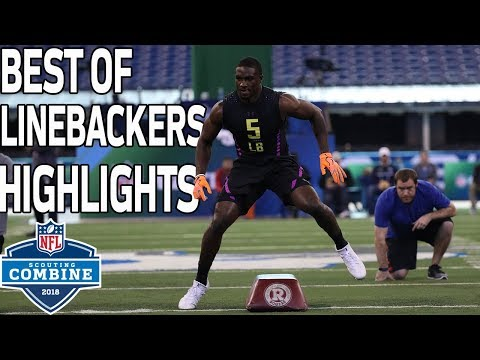 Best of Linebackers Workouts!   NFL Combine Highlights