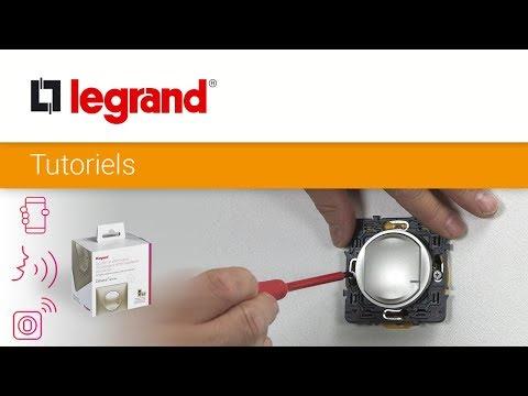 Interrupteur variateur connecté Céliane with Netatmo sans neutre 300W - blanc