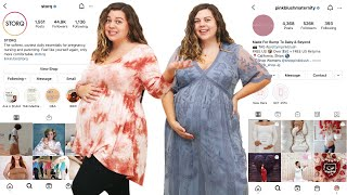 Trying Clothes from Size Inclusive Maternity Brands!