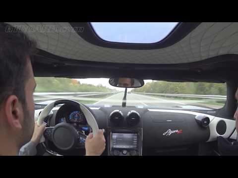 hqdefault - A 340 Kmh con un Koenigsegg Agera R en una autopista alemana