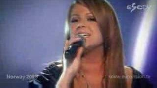 Norway ESC 2008; Maria Haukaas Storeng - Hold on be strong