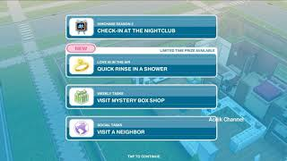 Check-in At The Nightclub . The Sims FreePlay
